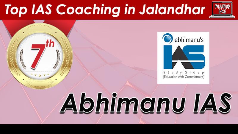 top ias coaching in jalandhar