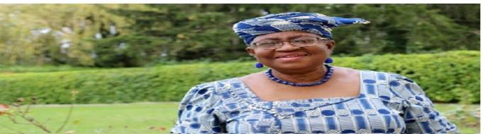 Okonjo-Iweala from Nigeria
